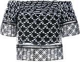 Jonathan Simkhai embroidered blouse - women - Silk/Polyester - S