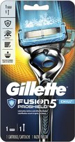 Gillette Fusion ProShield Chill Men's Razor With FlexBall Handle and 1 Razor Blade Refill