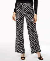 INC International Concepts I.n.c. Printed Wide-Leg Soft Pants, Created for Macy's