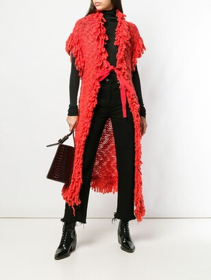 John Galliano Pre-Owned 2000 Knit Cardi-Coat