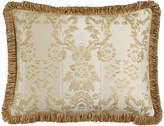 Horchow Austin Horn Classics King Chenille Sham with Loop Fringe