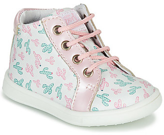GBB FAMIA girls's Shoes (High-top Trainers) in Green