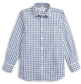 Nordstrom Boy's Smartcare(TM) Plaid Dress Shirt