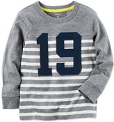 Carter's Toddler Boys Raglan Striped Tee