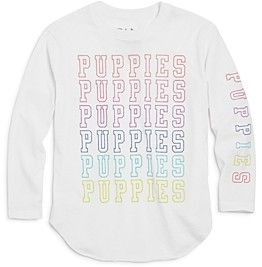 Chaser Girls' Puppies Tee - Little Kid, Big Kid