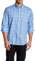 Tailorbyrd Taccoa Falls Long Sleeve Print Trim Fit Woven Shirt