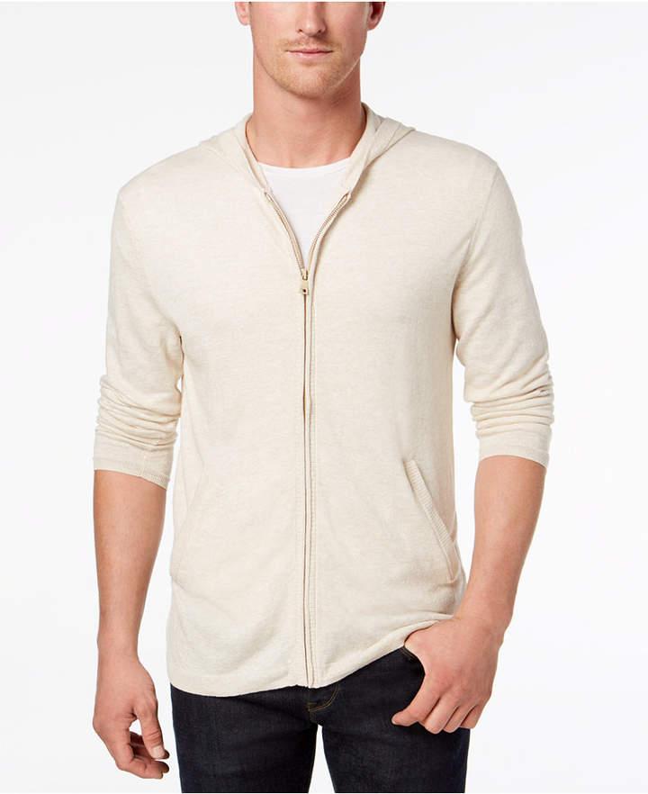 Tasso Elba Island Men's Lightweight Hooded Sweater, Created for Macy's