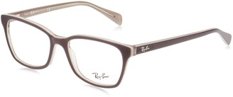 Ray-Ban Unisex's Rx5362 Square Eyeglass Frames Prescription Eyewear