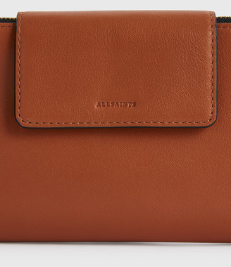 AllSaints Mitchell Leather Wallet