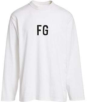 Fear Of God Men's Sixth Collection Long-Sleeve Cotton Tee