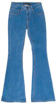 Victoria Beckham Mid-Rise Flared Jeans