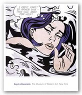 """McGaw Graphics Drowning Girl by Roy Lichtenstein 21.75""""x21.75"""" Art Print Poster"""