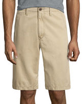 Arizona 12 Inseam Longboard Flat-Front Cotton Shorts