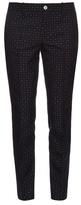 Gucci Dot-jacquard skinny-fit trousers