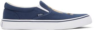 Polo Ralph Lauren Navy Bear Thompson Sneakers
