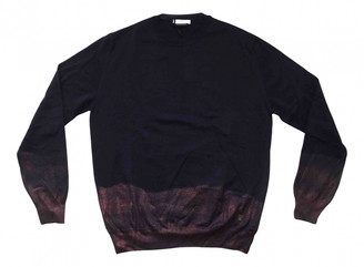 Versace Navy Wool Knitwear & Sweatshirts