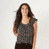 Women's LC Lauren Conrad Pleated Top