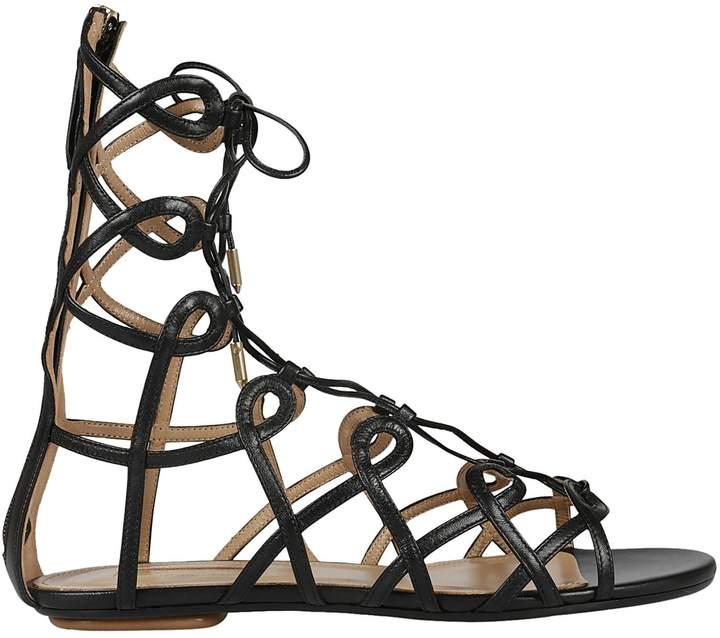Aquazzura Ankle Length Gladiator Sandals