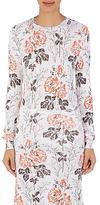 Victoria Beckham Women's Floral Fine-Gauge Sweater