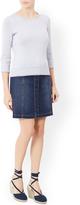 Monsoon Alesha Short Denim Skirt