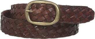 """Beltiscool 1 1/4"""" Women's Braided Woven Leather Belt"""