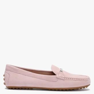 Lauren Ralph Lauren Briony Pink Suede Loafers
