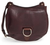 Frye 'Amy' Leather Crossbody Bag - Burgundy