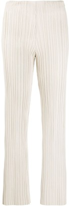Nanushka Micro-Pleated Trousers