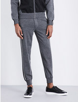 Bally Slim-fit wool jogging bottoms