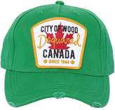 DSQUARED2 Canada Patch Gabardine Baseball Hat
