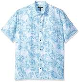 Van Heusen Men's Oasis Printed Short Sleeve Shirt