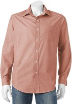 Croft & Barrow Big & Tall Classic-Fit Solid Easy-Care Button-Down Shirt