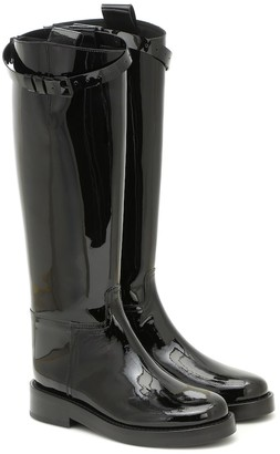 Ann Demeulemeester Patent leather knee-high boots