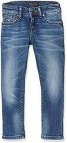 Scotch Shrunk Boy's Strummer-Meeting Point Jeans,104 (Herstellergröße: 4)