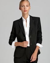 Basler Short Two Button Blazer - Bloomingdale's Exclusive