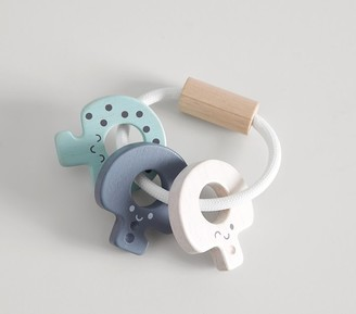 Pottery Barn Kids Plan Toys x pbk Key Rattle