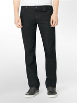 Calvin Klein Slim Straight Leg Dark Gloss Wash Jeans