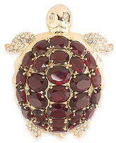 Carolee Night at the Museum Goldtone Turtle Pin