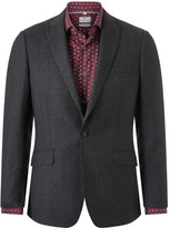 Richard James Daniel Speckled Flannel Suit Jacket