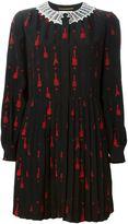 Saint Laurent 'School Girl' mini dress - women - Silk/Cotton/Polyester/Viscose - 38