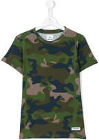 Les (Art)Ists Kids Riri camouflage t-shirt