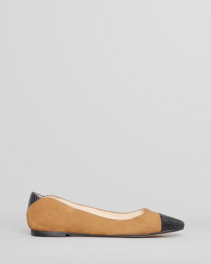 Sam Edelman Ballet Flats - Trent Pointed Cap Toe