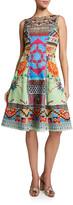Etro Cotton Sleeveless Fit & Flare Dress