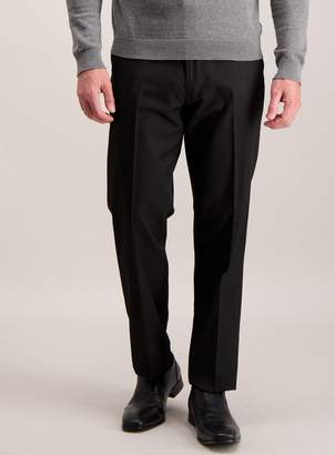 Tu Black Active Waistband Tailored Fit Trousers