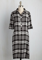 Crafting by Candlelight Plaid Tunic in S