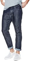 GUESS Cropped Tapered Jeans
