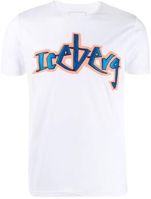 Iceberg graffiti logo T-shirt