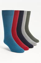 Topman Cable Knit Socks (5-Pack)