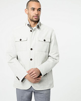 Le Château Cotton Blend Mailman Jacket