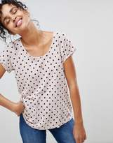 Pepe Jeans Michelle Polka Dot Print T-Shirt